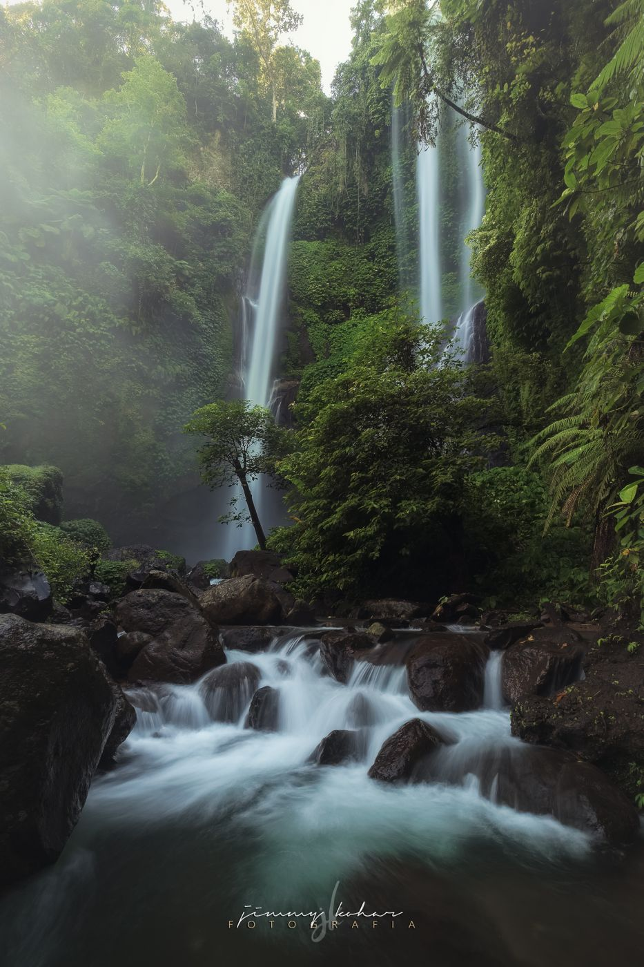 Sekumpul, Fiji & Hidden Waterfalls, Indonesia