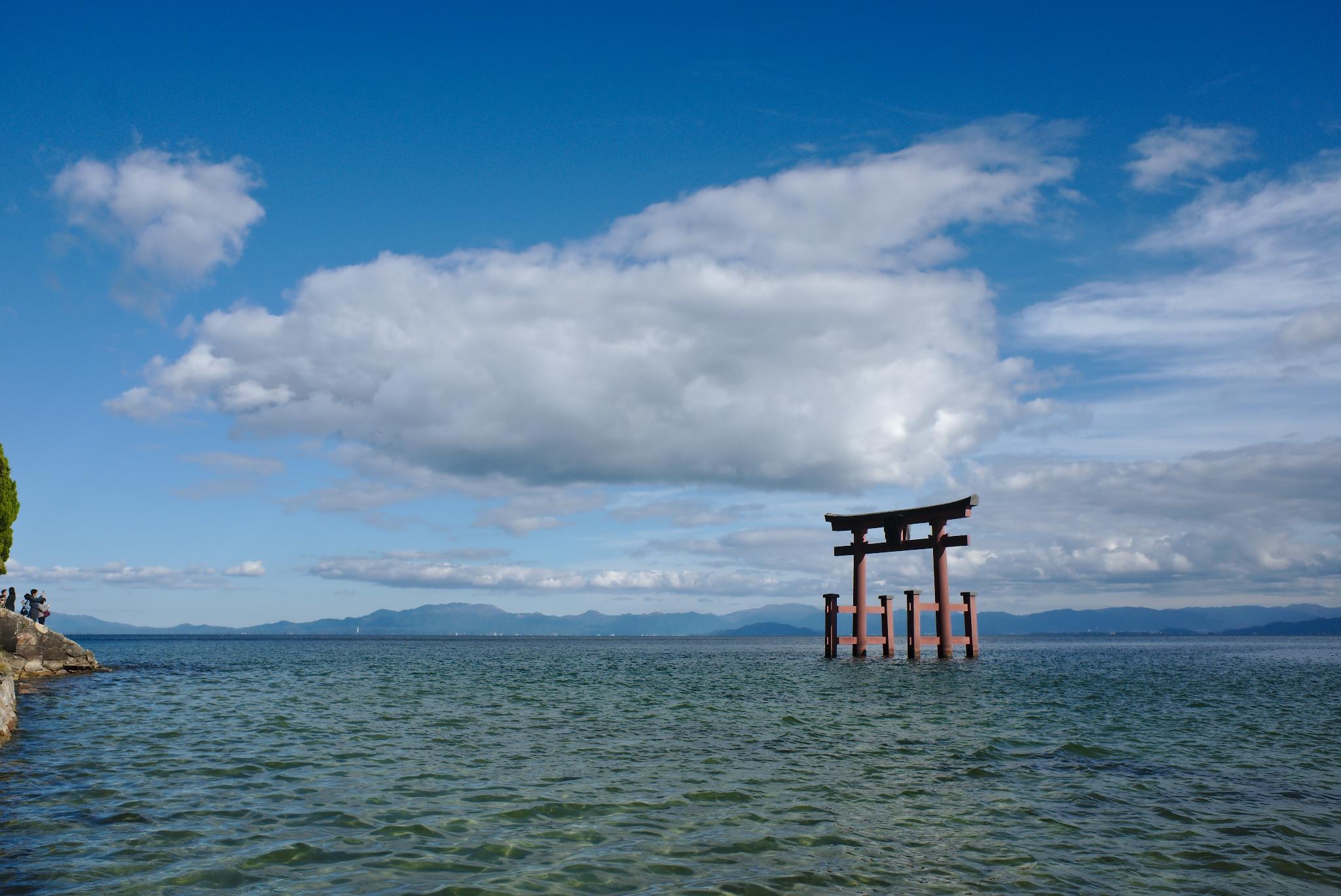 Shirahige jinja torii, Japan