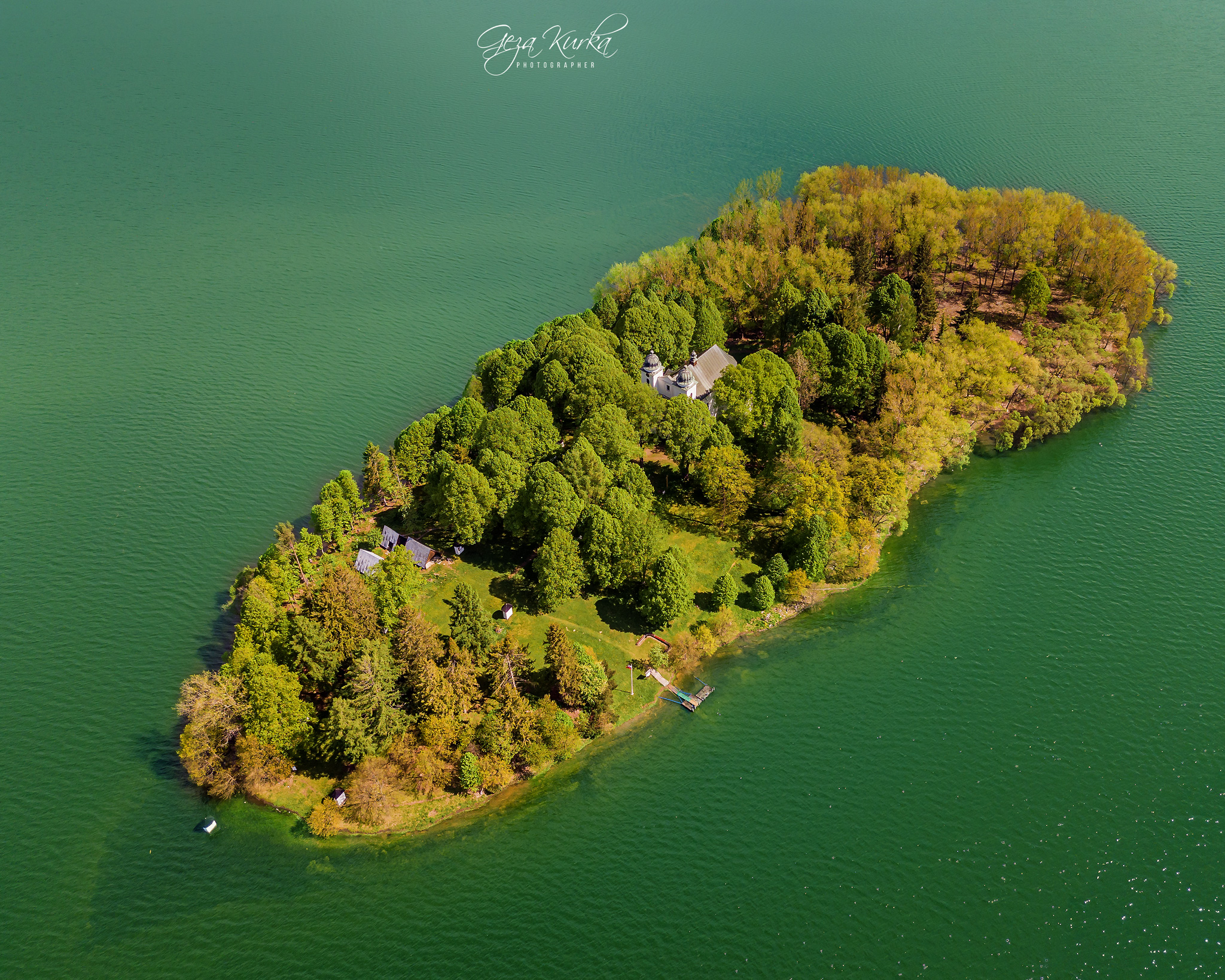 Slanica island of art, Slovakia (Slovak Republic)