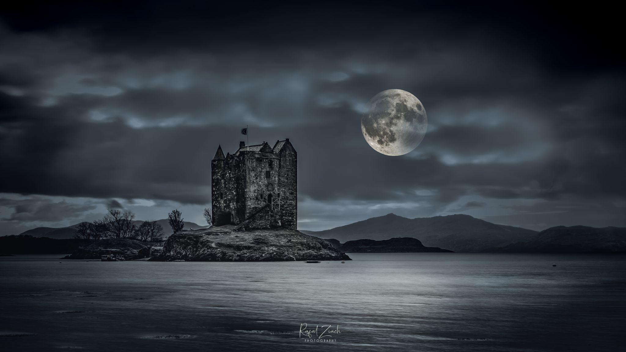 Stalker Castle  , Scotland, United Kingdom