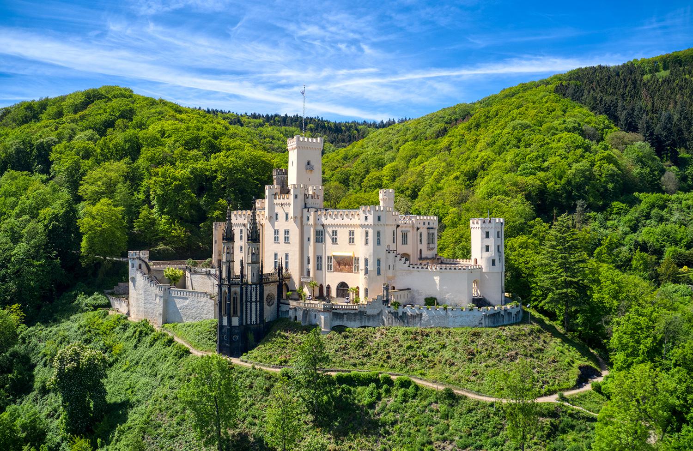 Stolzenfels castle, Germany