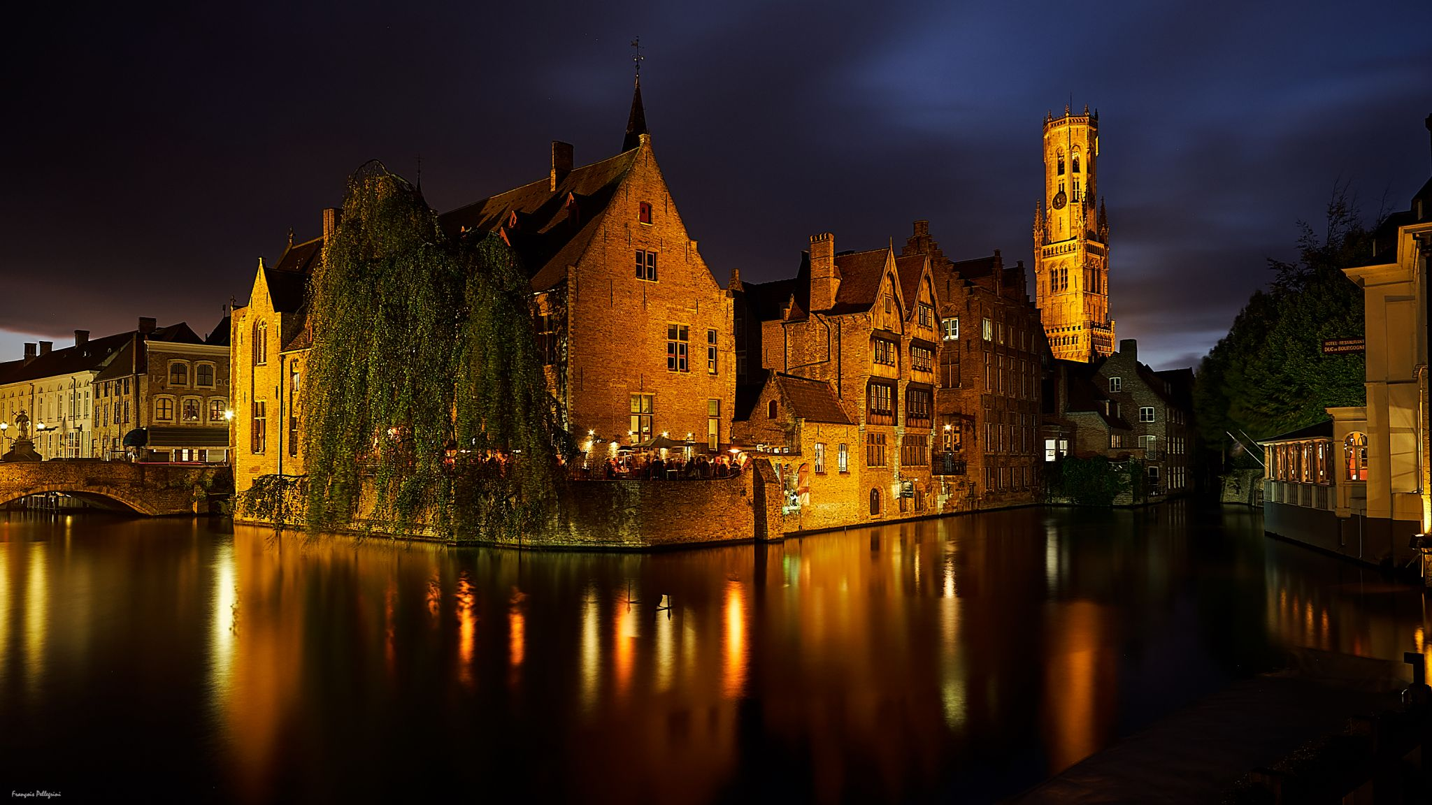 Rozenhoedenkaai, Bruges, Belgium