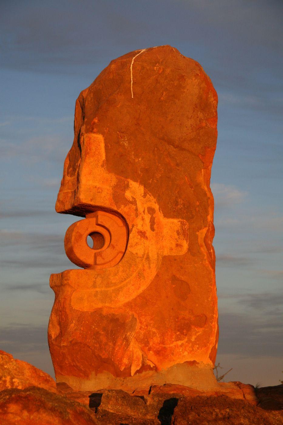 The Living Desert and Sculptures, Australia