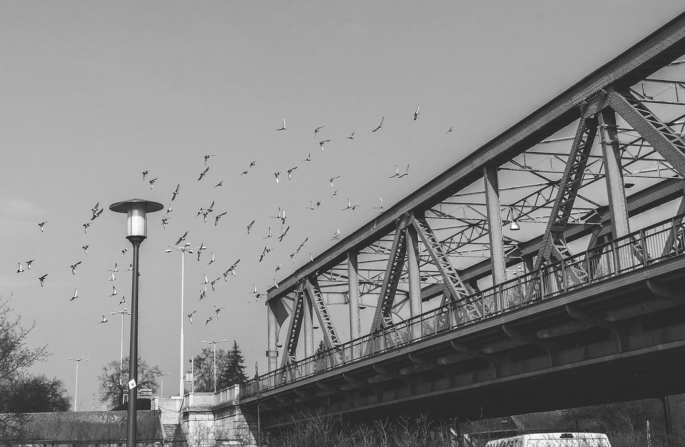 Toruń, Pilsudski bridge, Poland