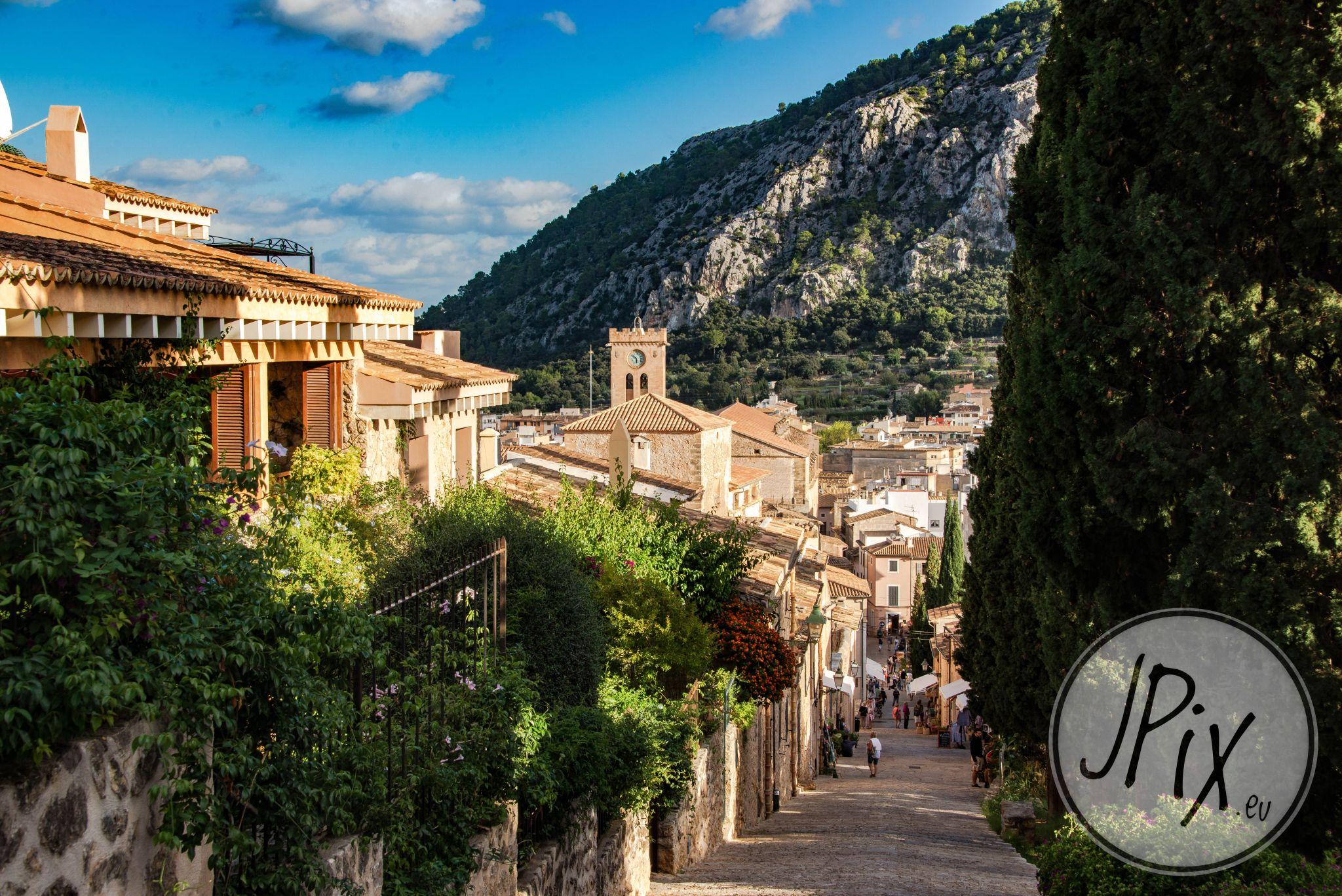 View at Pollenca, Spain