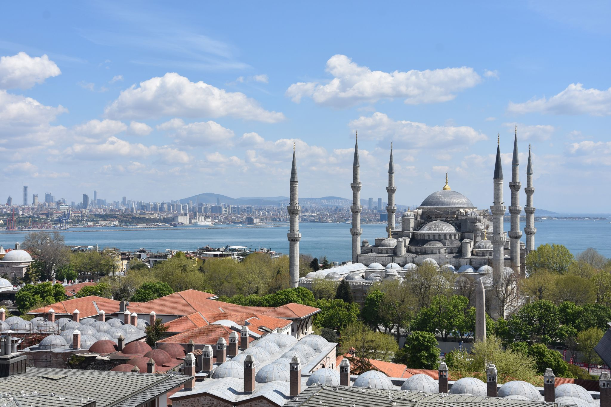 View from Arcadia Blue Hotel Restaurant Terrace, Turkey