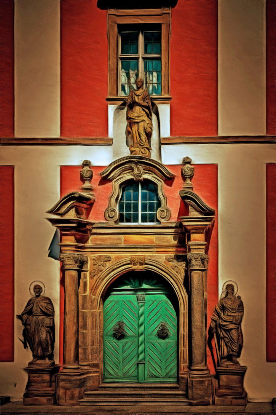 Abbey Church Speinshart (Upper Palatinate, Germany), Germany