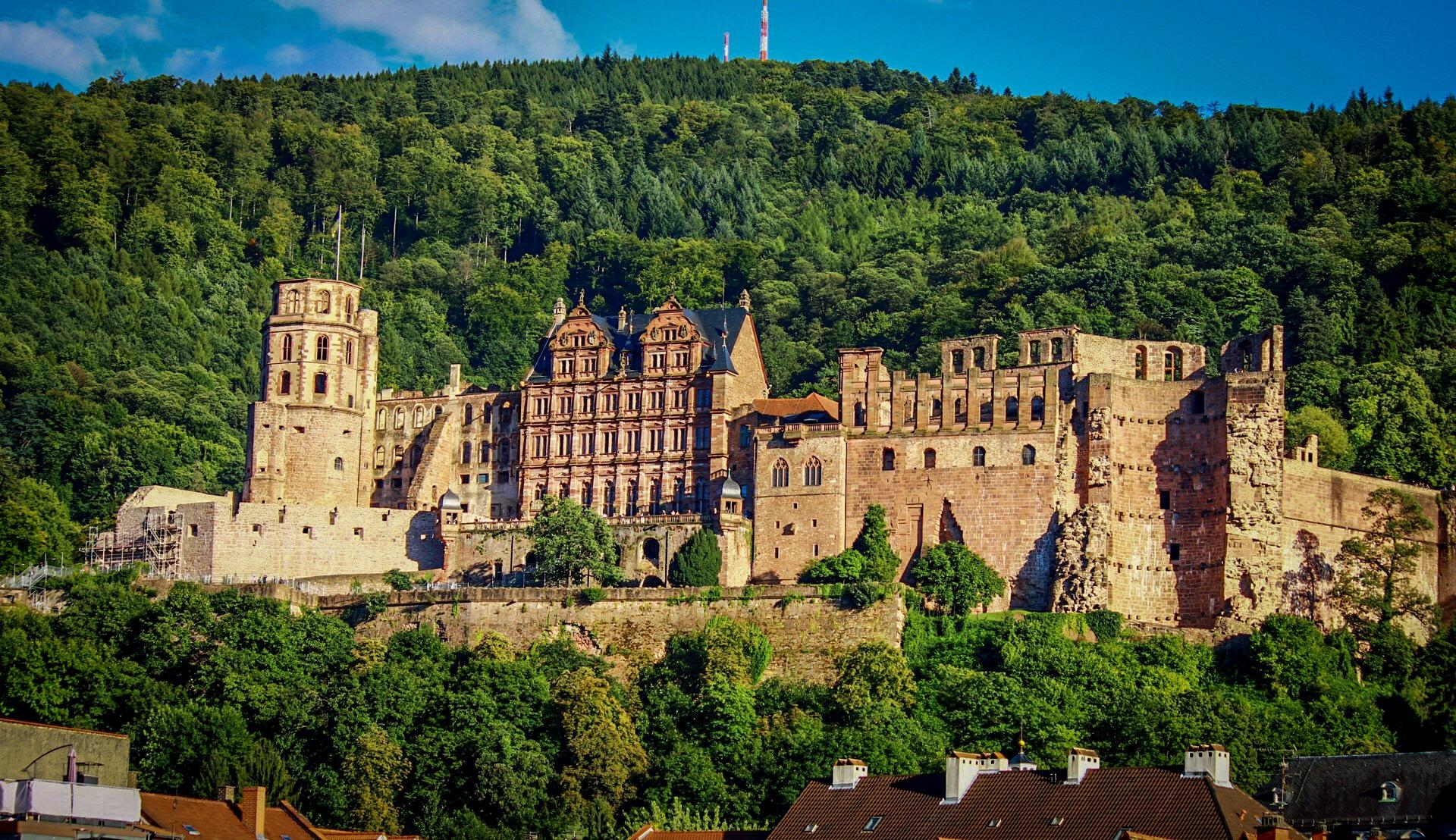 Alte Brücke Heidelberg, Germany