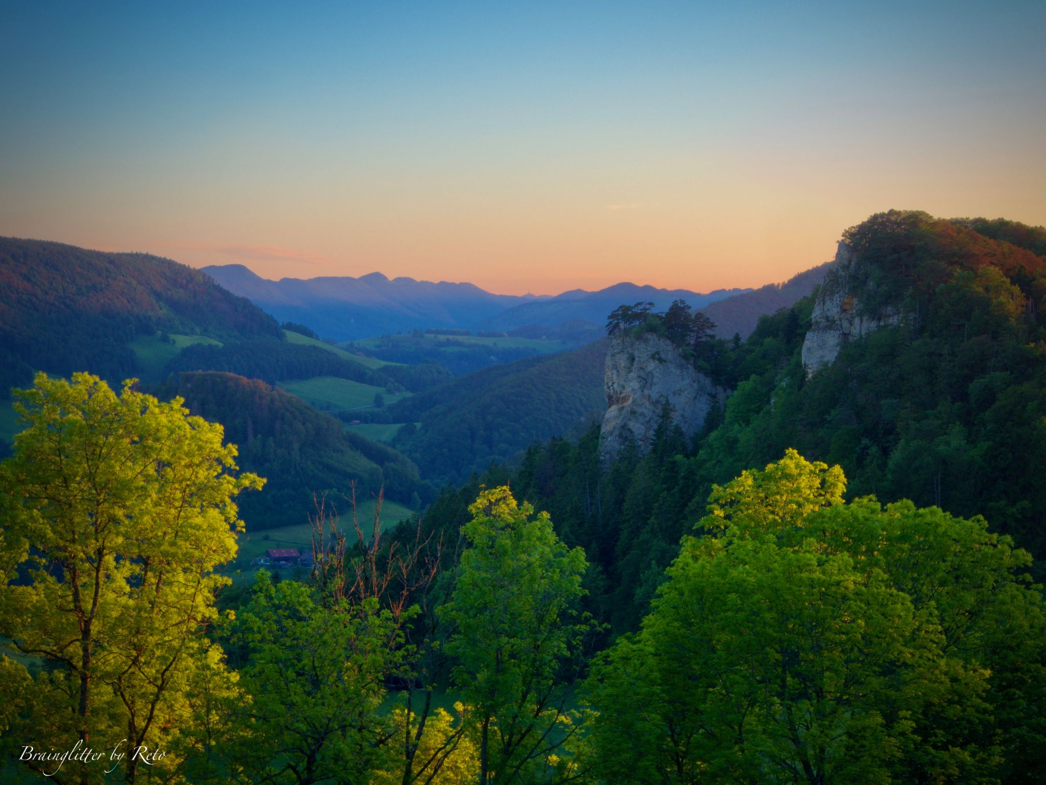 Ankenballen, Switzerland