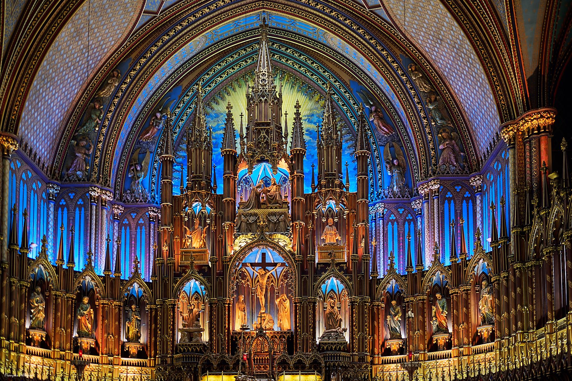 Basilique Notre-Dame (Indoors), Montreal, Canada
