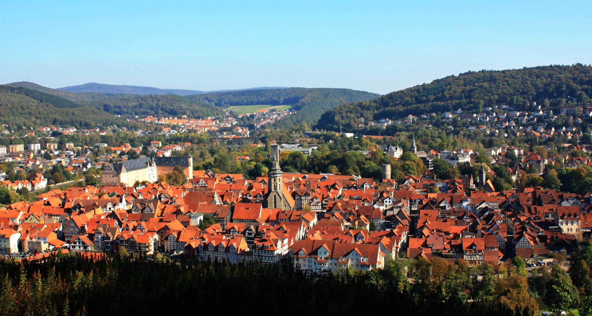 Blick auf Hannoversch Münden, Germany