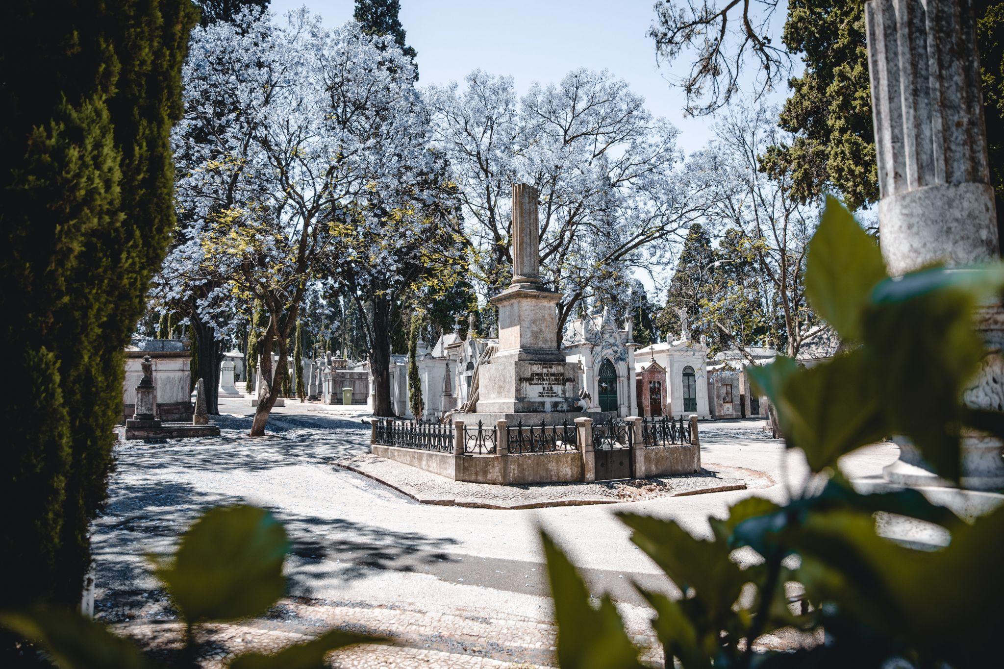 Cemitério dos Prazeres Lissabon, Portugal