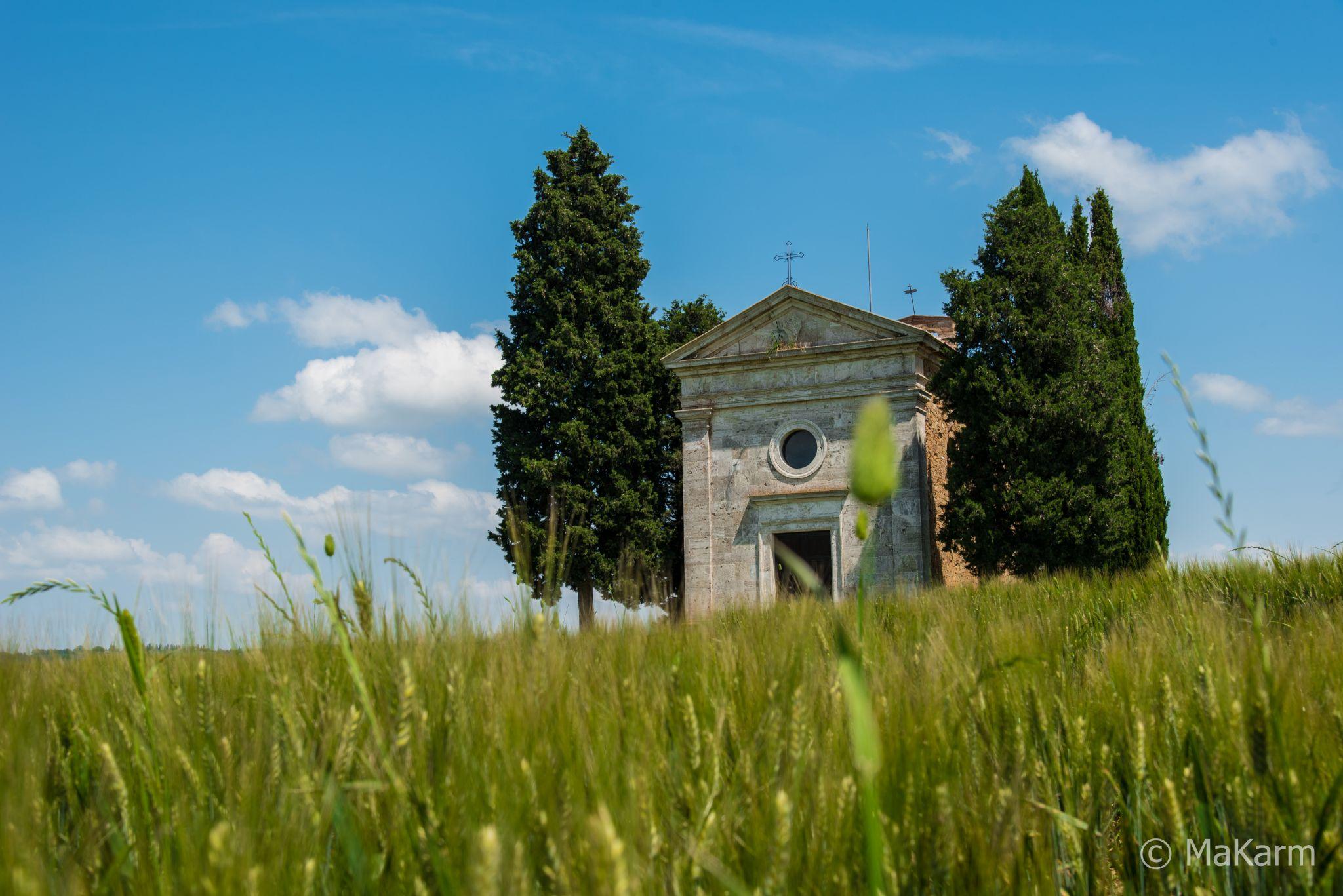 Chapel Vitaleta, Italy