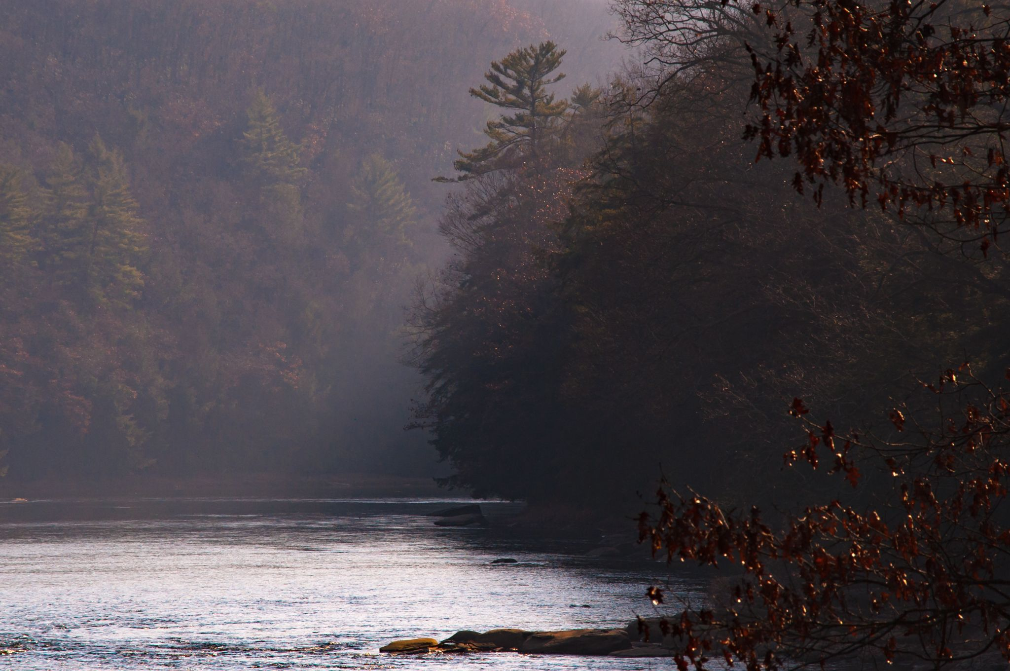 Clarion River near Coleman Run Rd, USA
