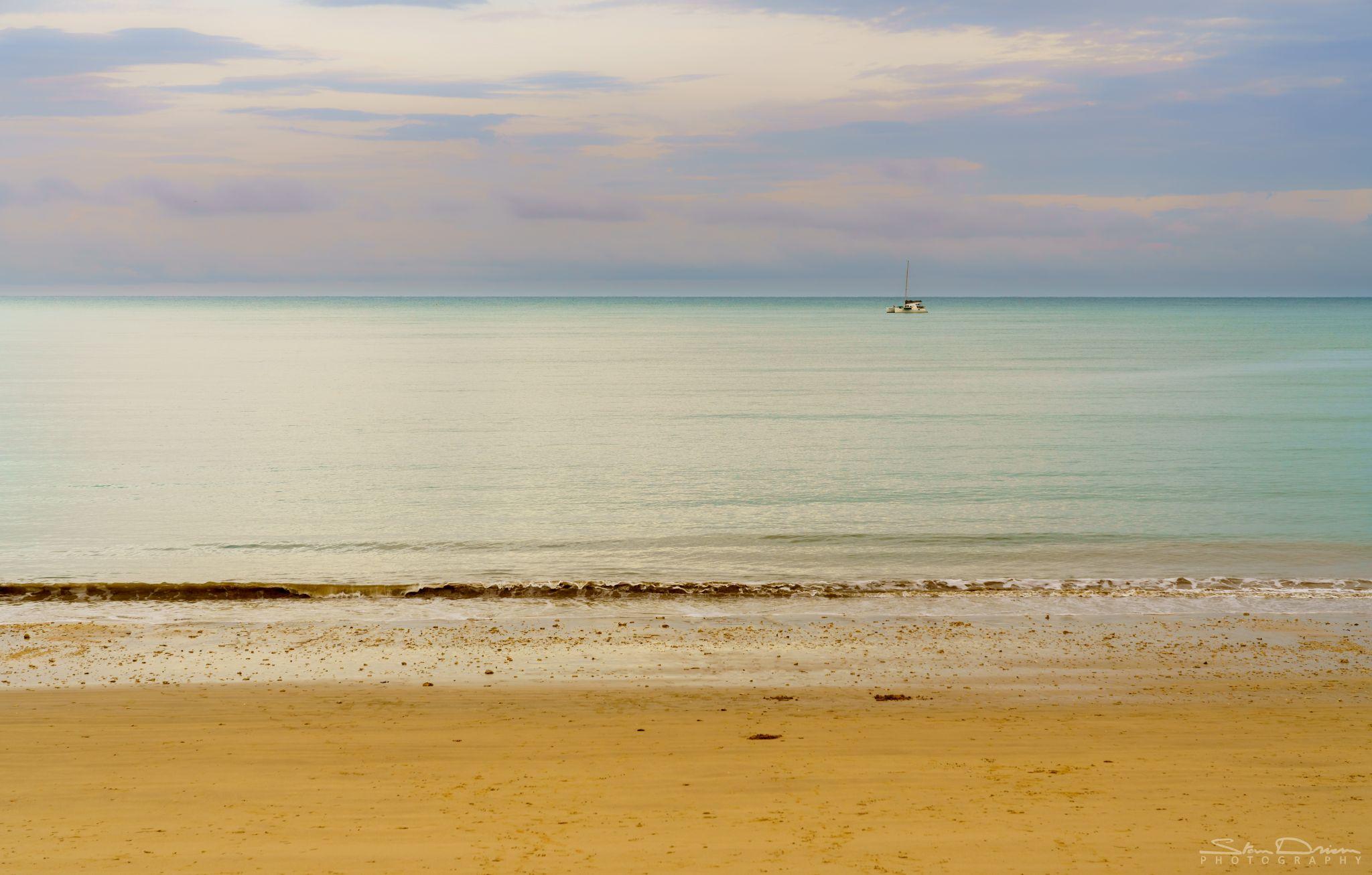 Coconut beach sunrise, Thailand