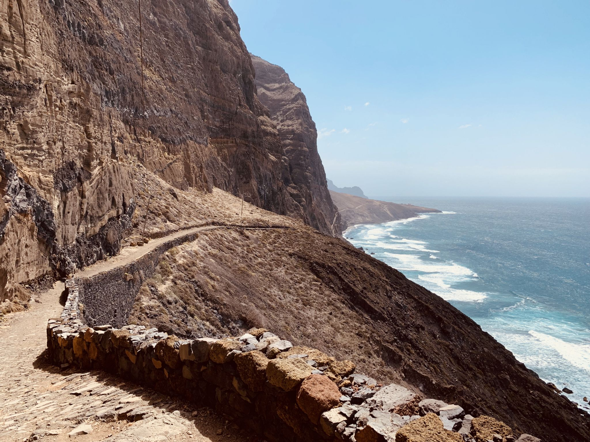 Cruzihna to Ponta do Sol track, Sao Antao, Cape Verde