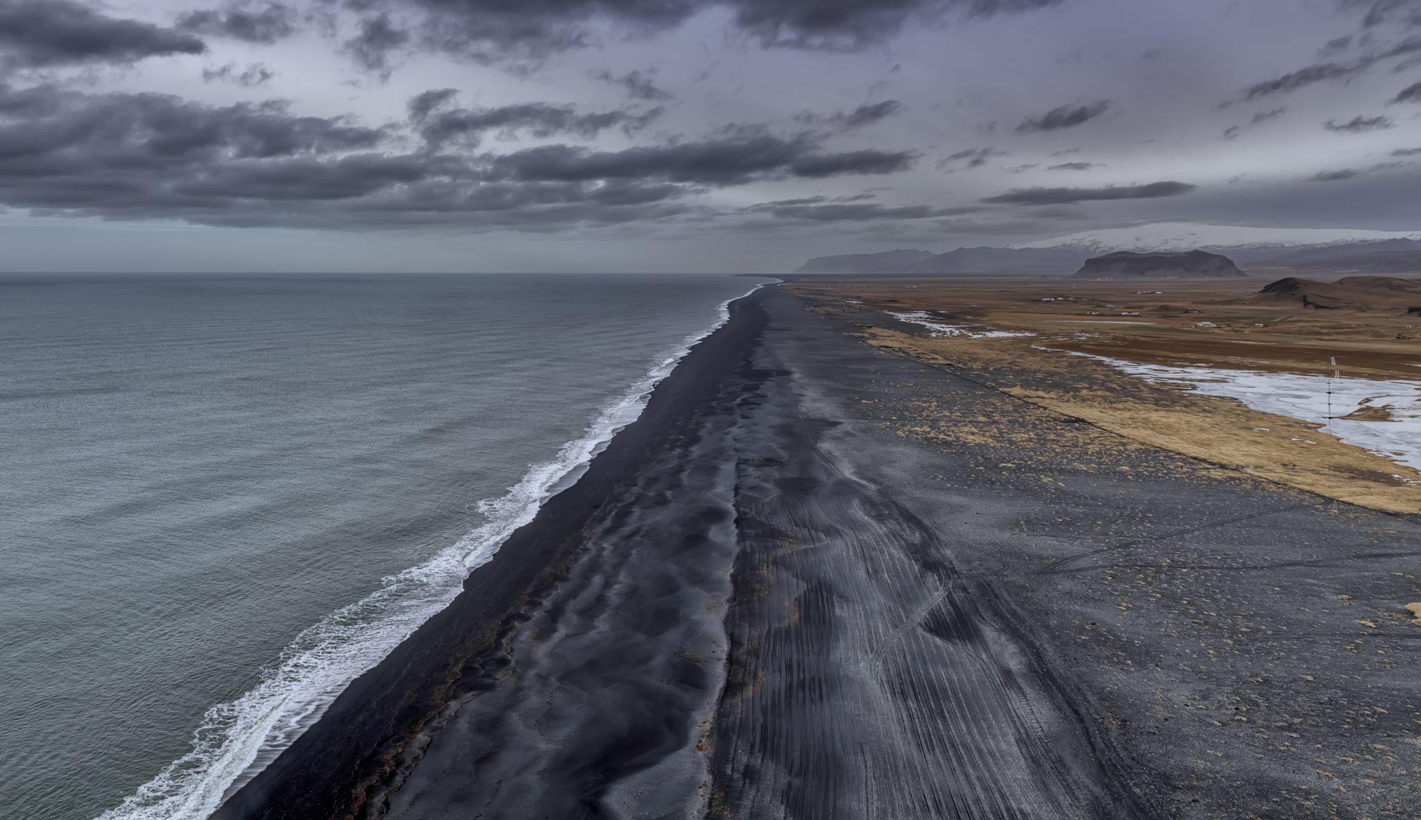Dyrhólaey Viewpoint, Iceland, Iceland
