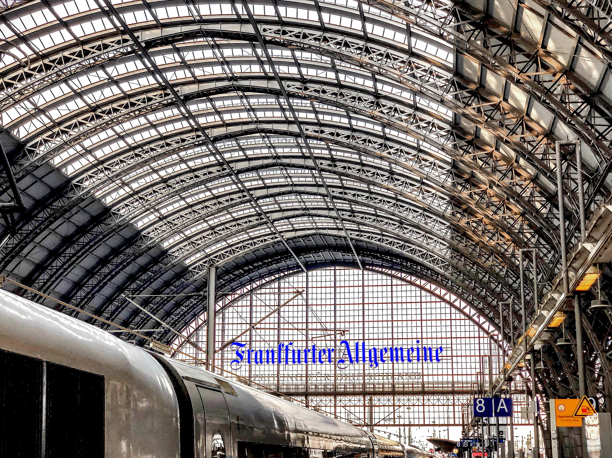 Frankfurt Central Station, Germany