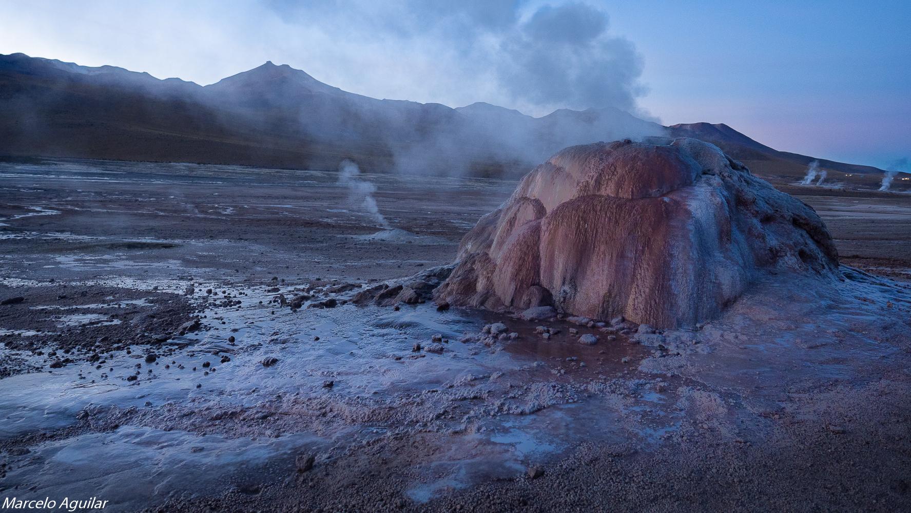 geysers del Tatio, Chile