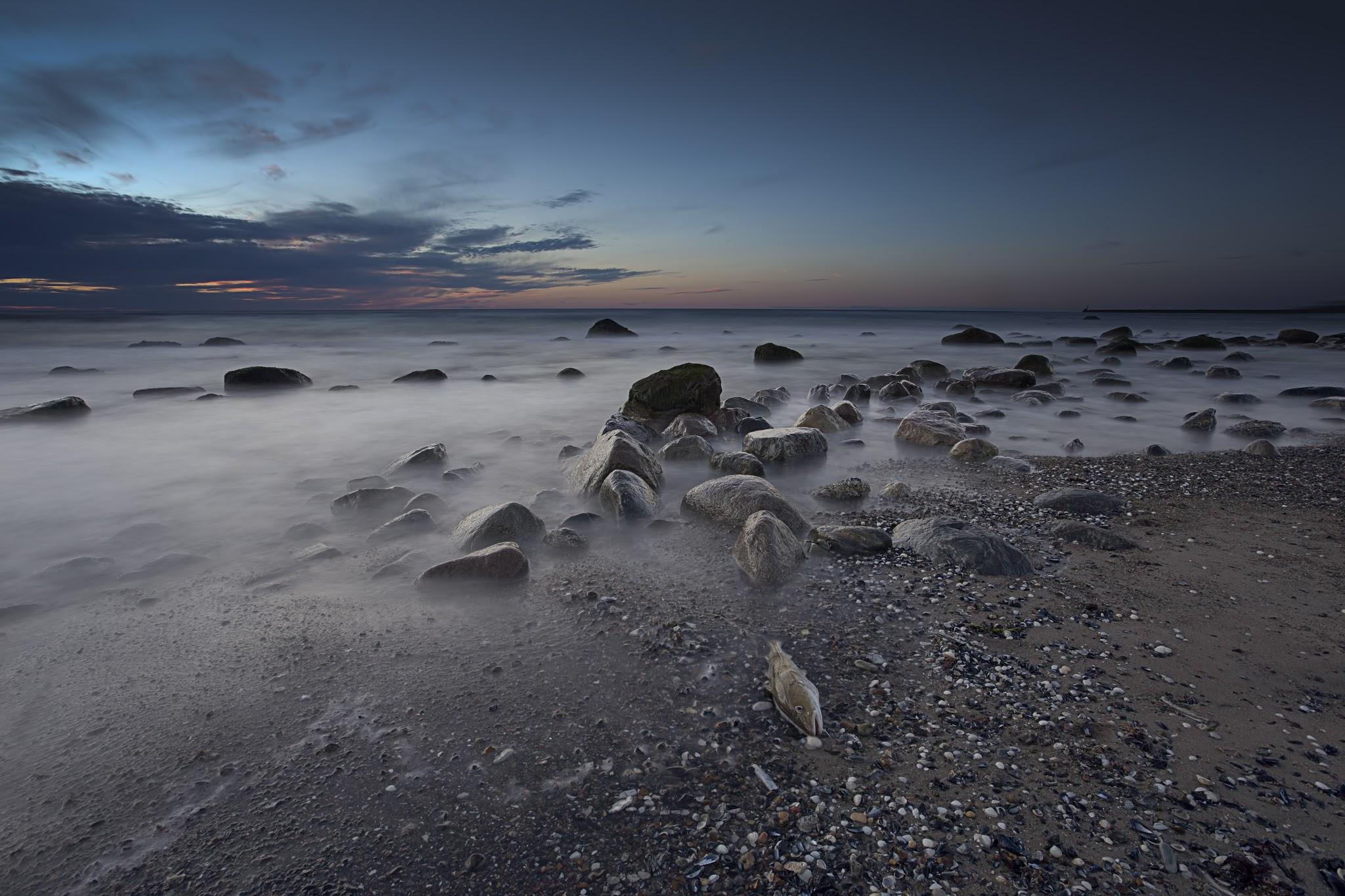 Hirtshals beach, Denmark