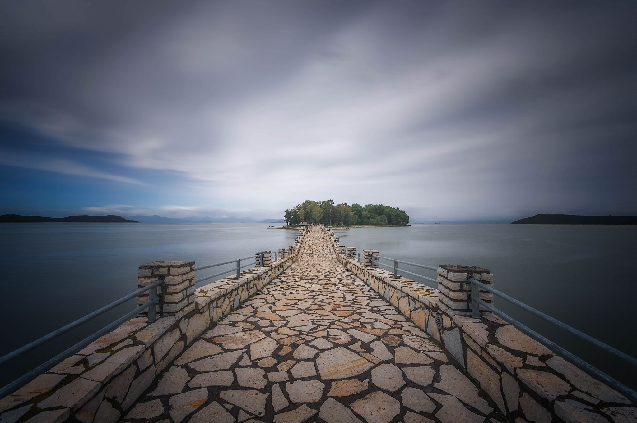 Koukoumitsa Island Vonitsa, Greece