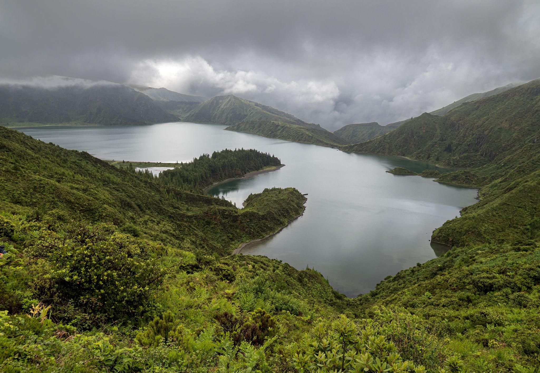 Lagoa do Fogo, Sao Miguel, Azores, Portugal