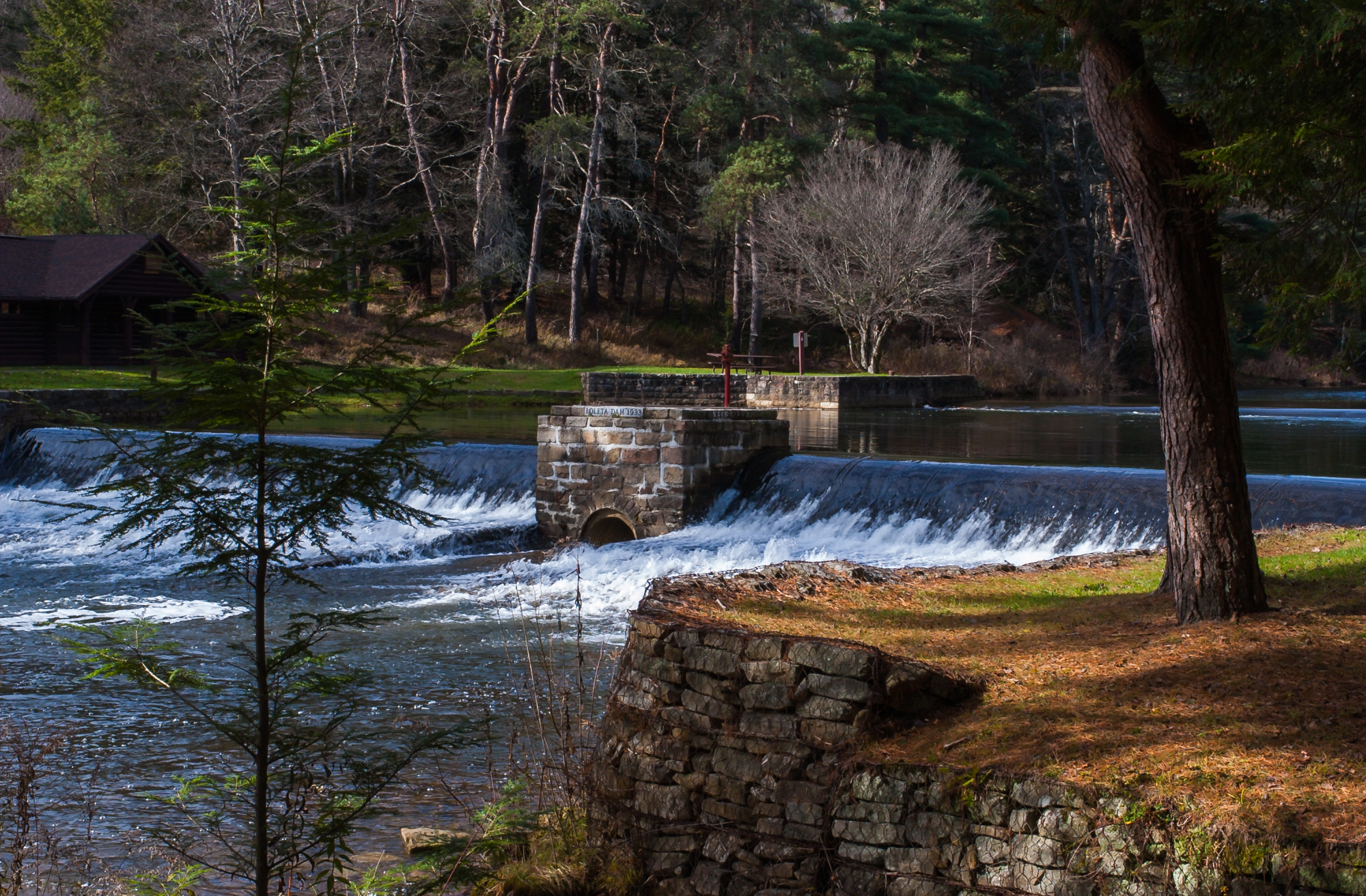 Loleta Dam, USA