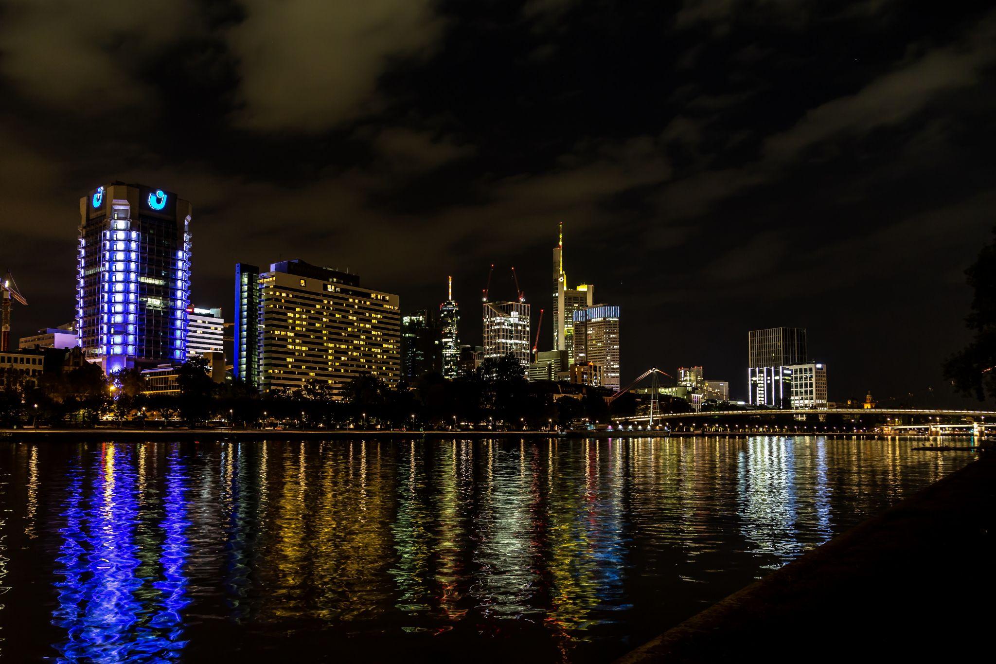 Mainufer Frankfurt, Germany