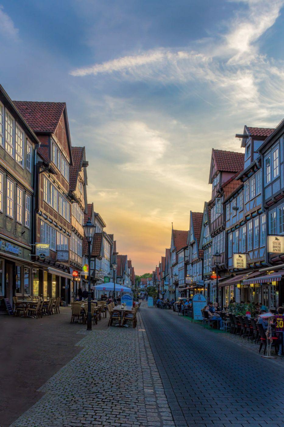 Mauernstrasse, Celle, Germany