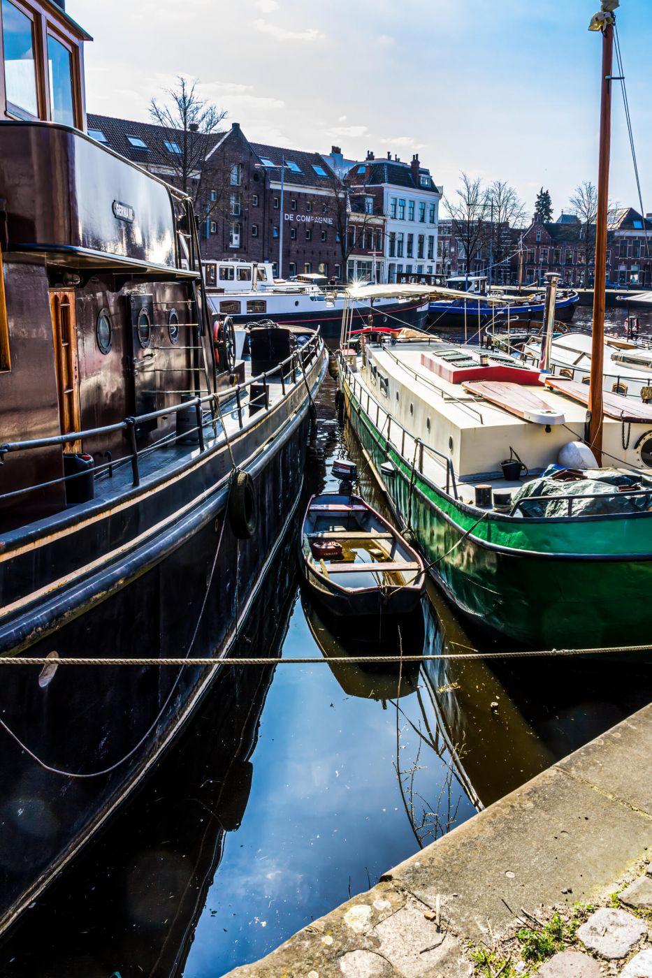 Noorderhaven Groningen, Netherlands
