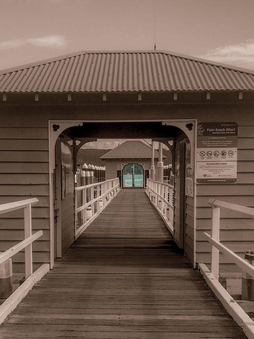 Palm Beach Wharf Sydney New South Wales, Australia