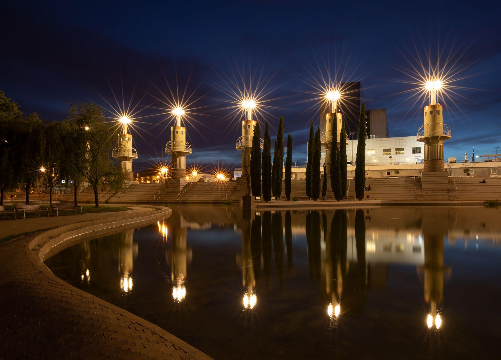 Parc de l'Espanya Industrial, Spain