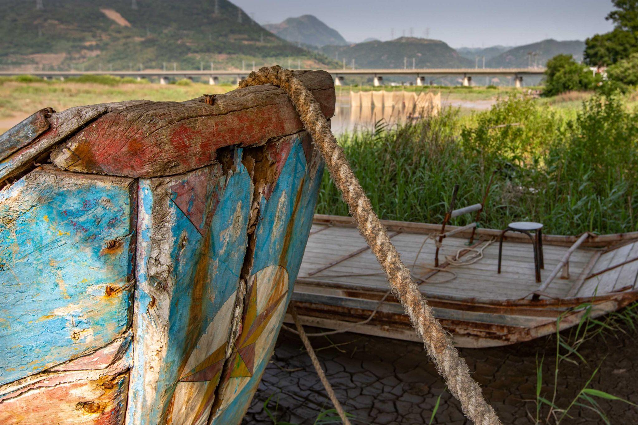 Piao Wang Fishing Boat and raft Xiapu, China