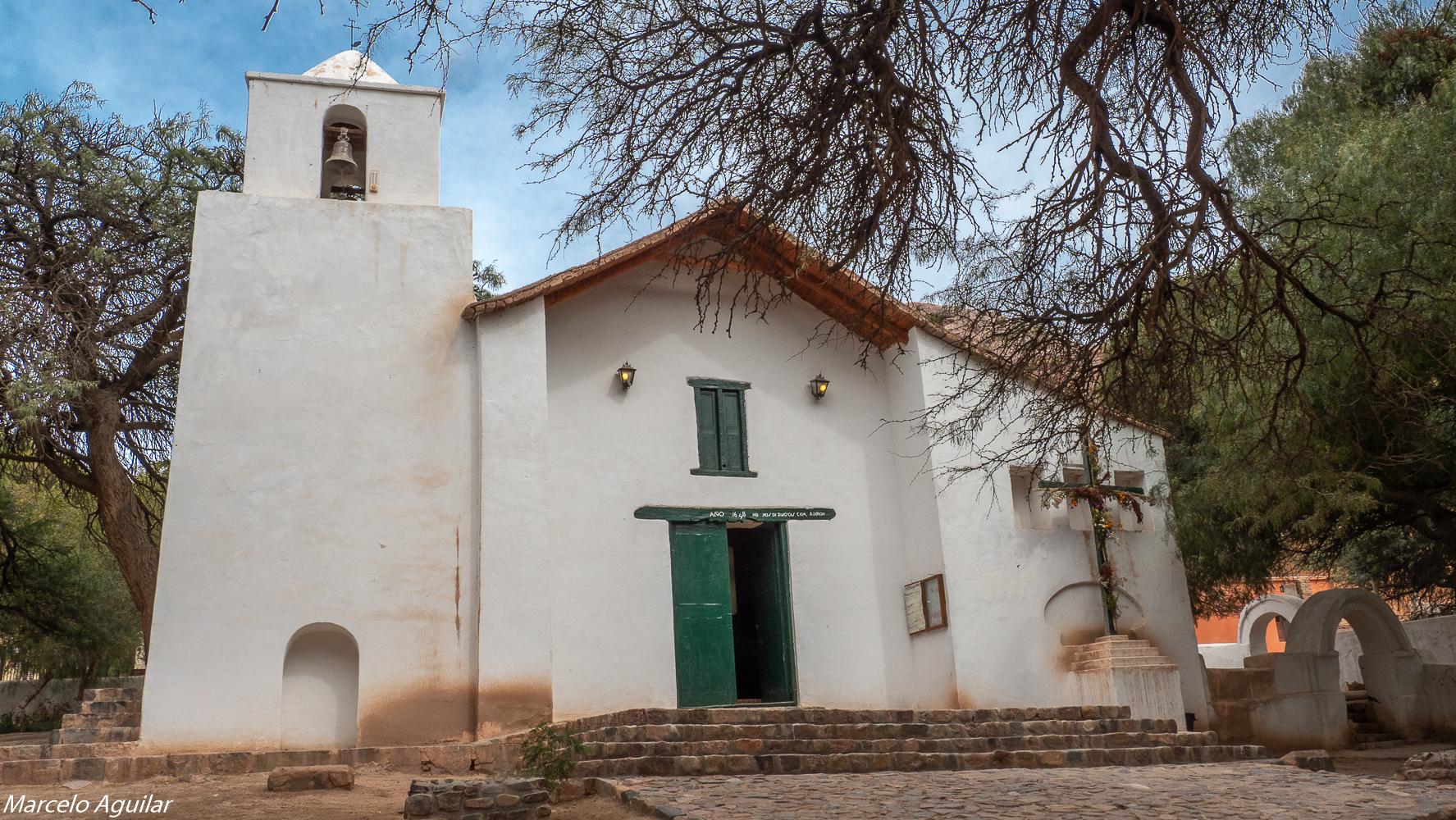 Purmamarca church, Argentina