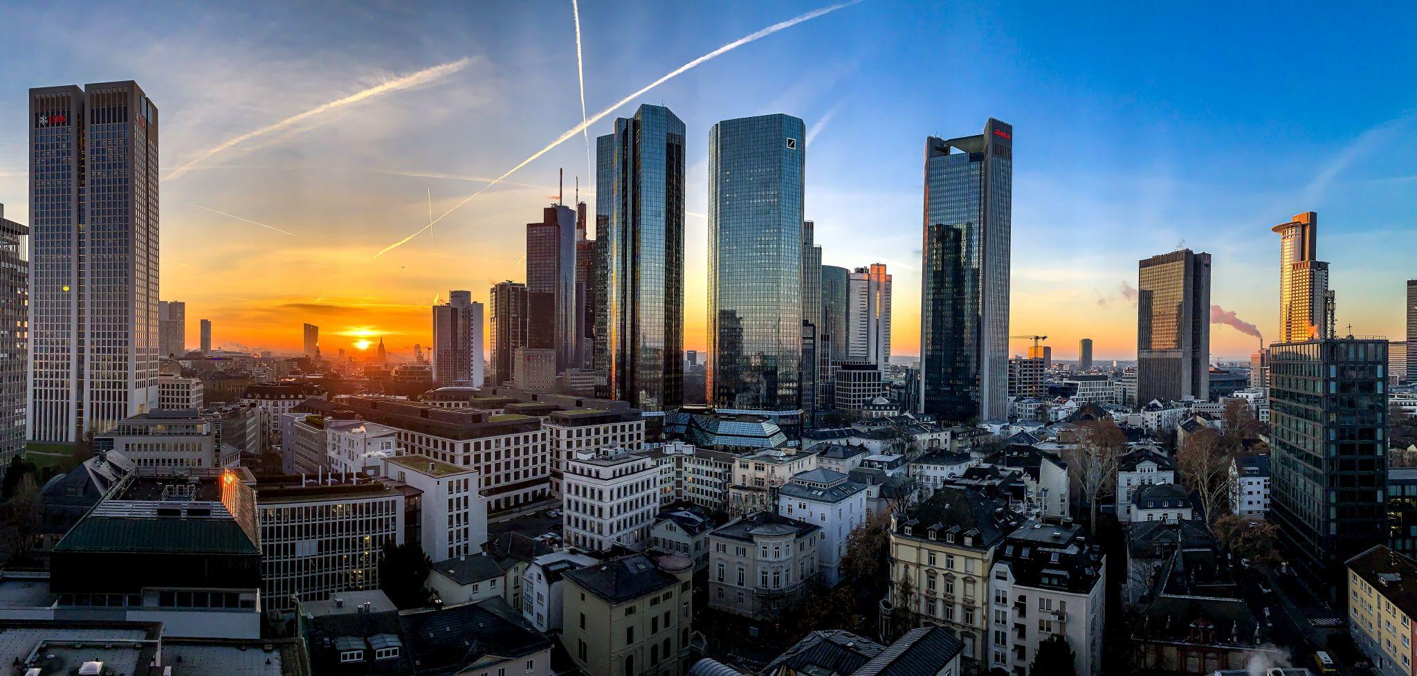 Skyline Frankfurt, Germany