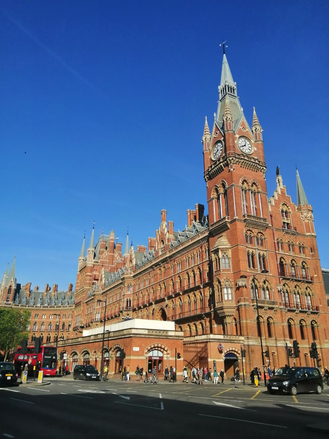 ST Pancras Station, United Kingdom