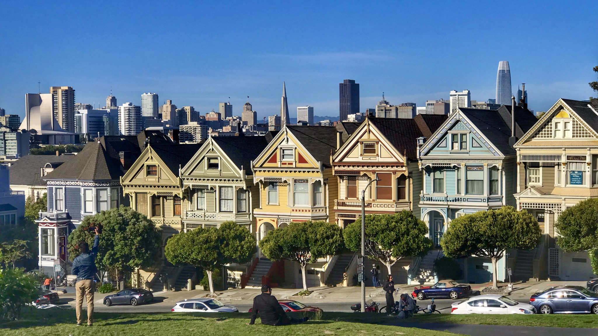 The Painted Ladies, USA