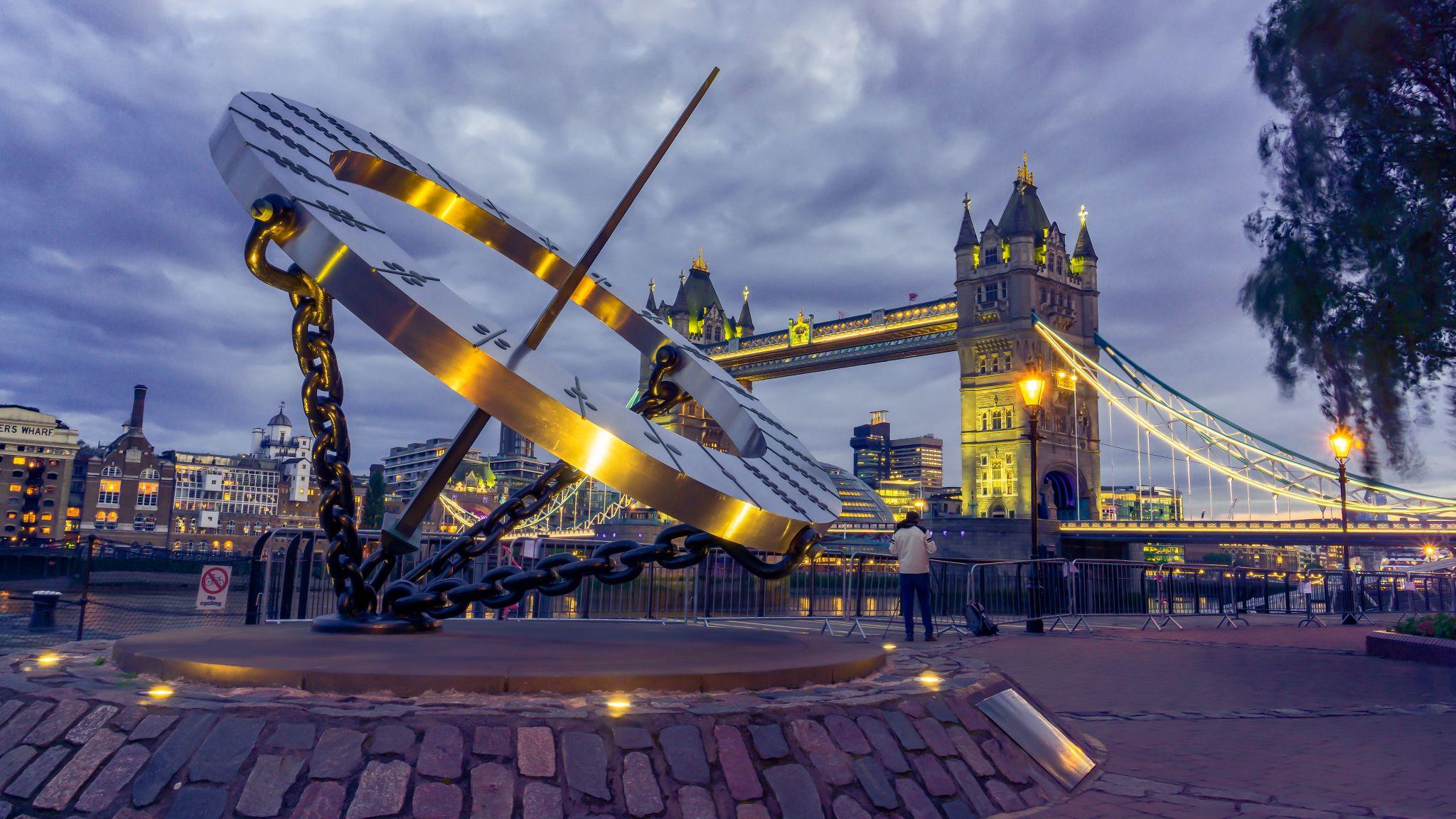 The Timepiece Sundial, United Kingdom