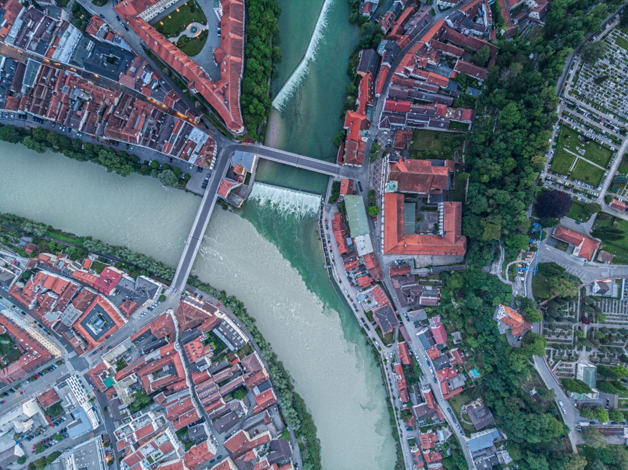 The 'Y' of Steyr, Austria
