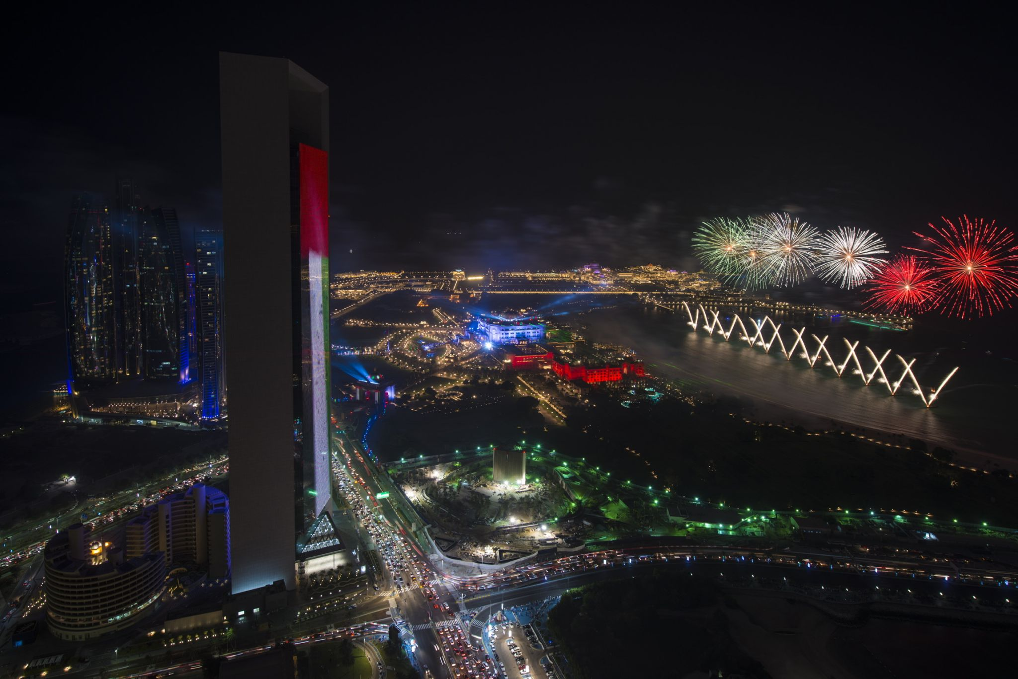 Top of Nation towers, United Arab Emirates