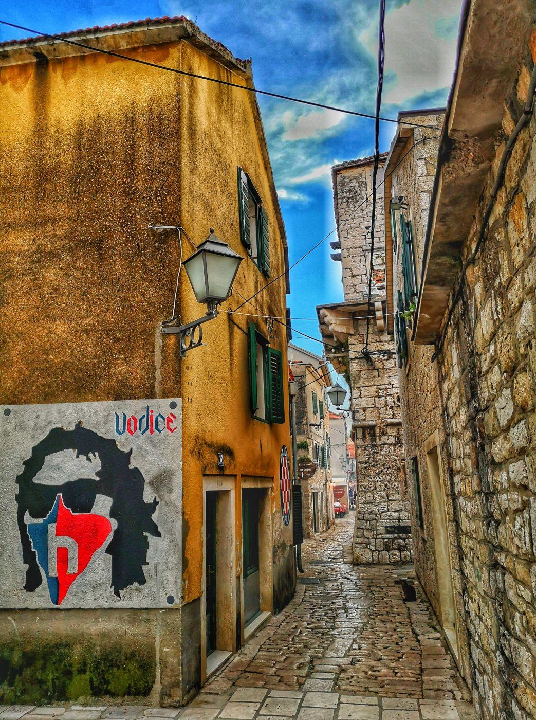 Vodice Old Town, Croatia