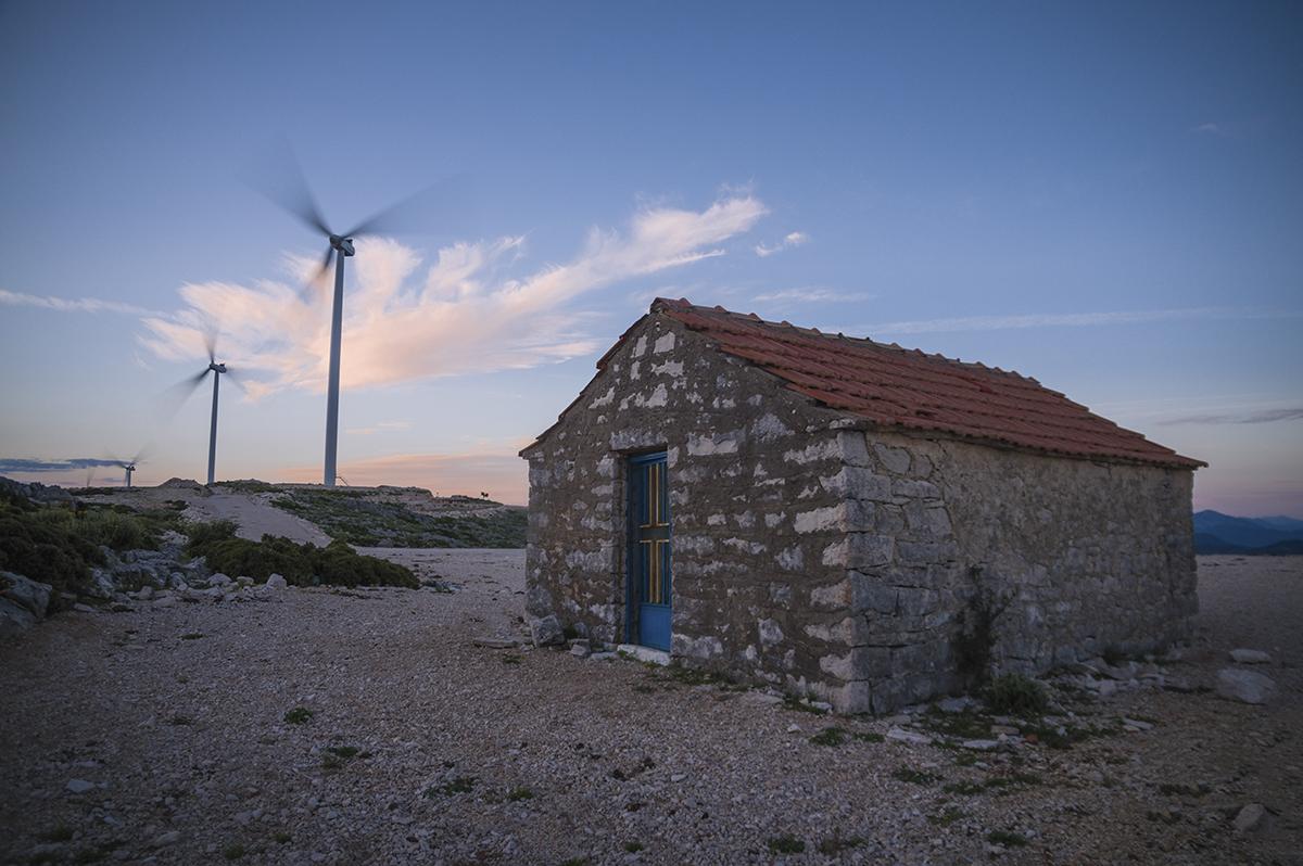 Windmills, Greece