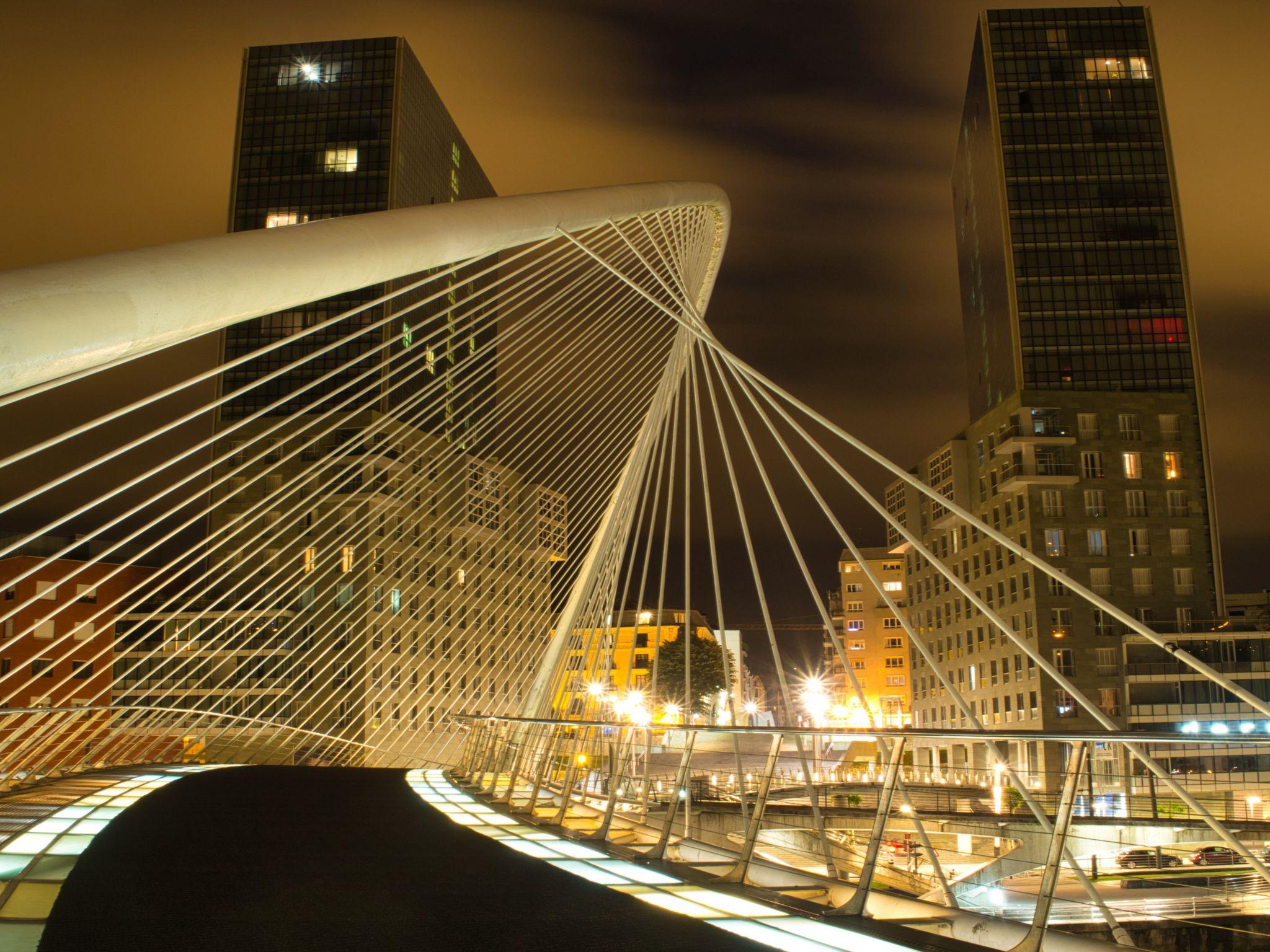 Zubizuri/Puente de Calatrava, Spain