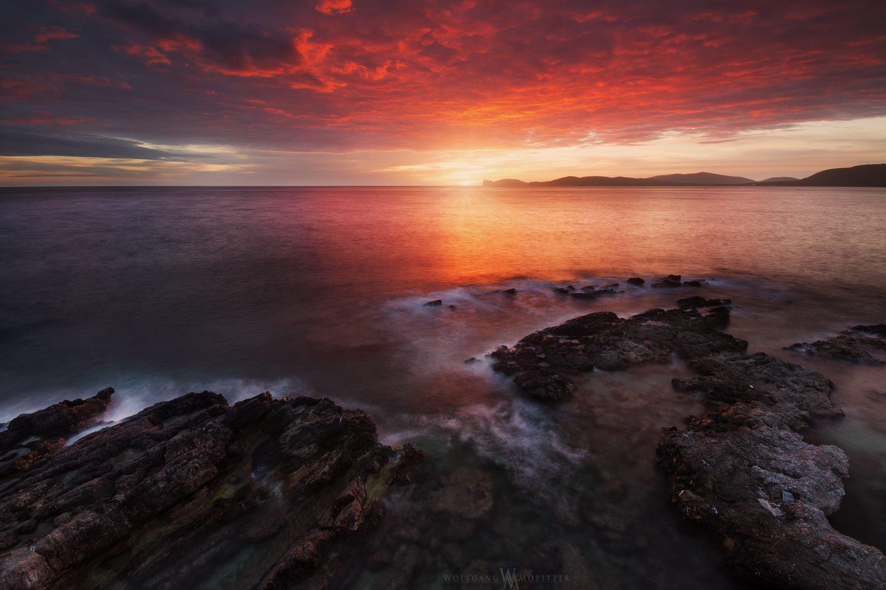 Alghero Sunset, Italy