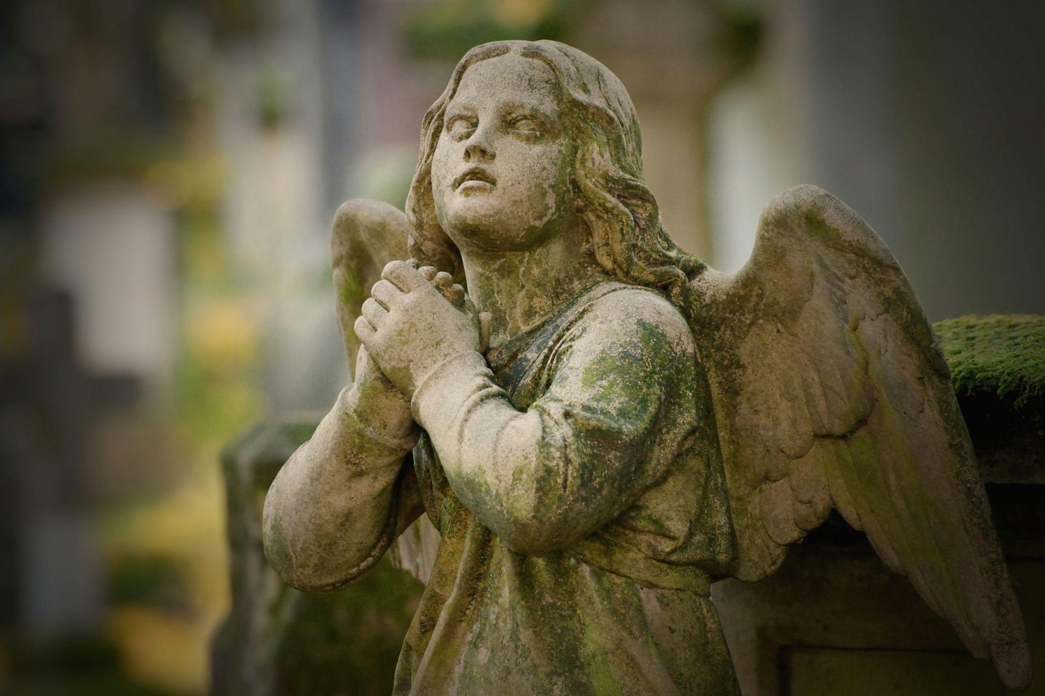 Alter Friedhof, old graveyard, Germany
