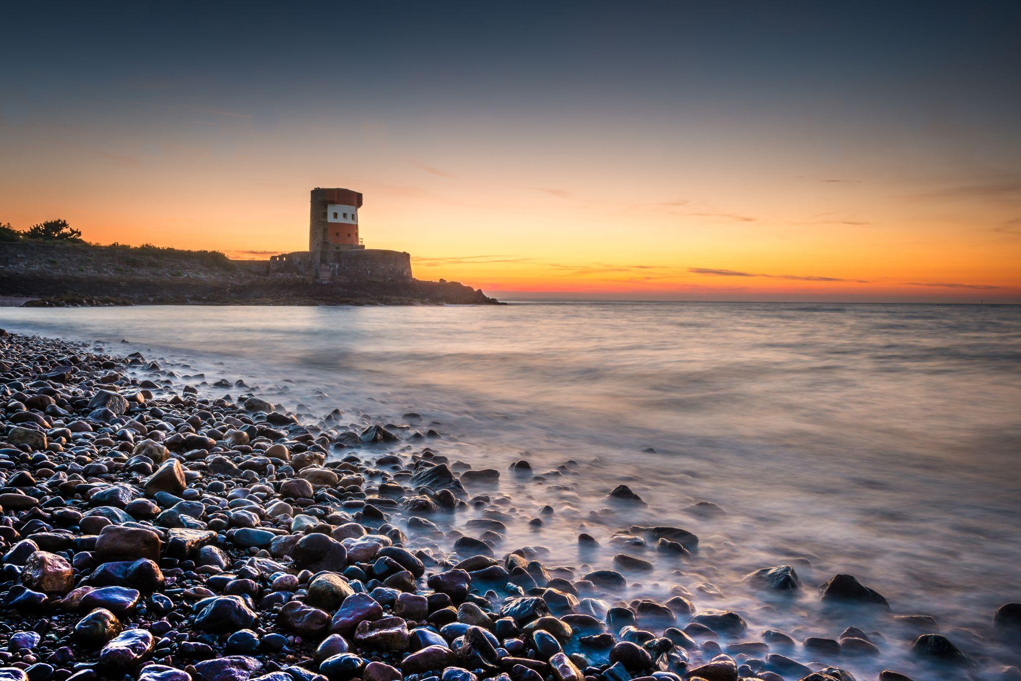 Archirondel beach, Jersey