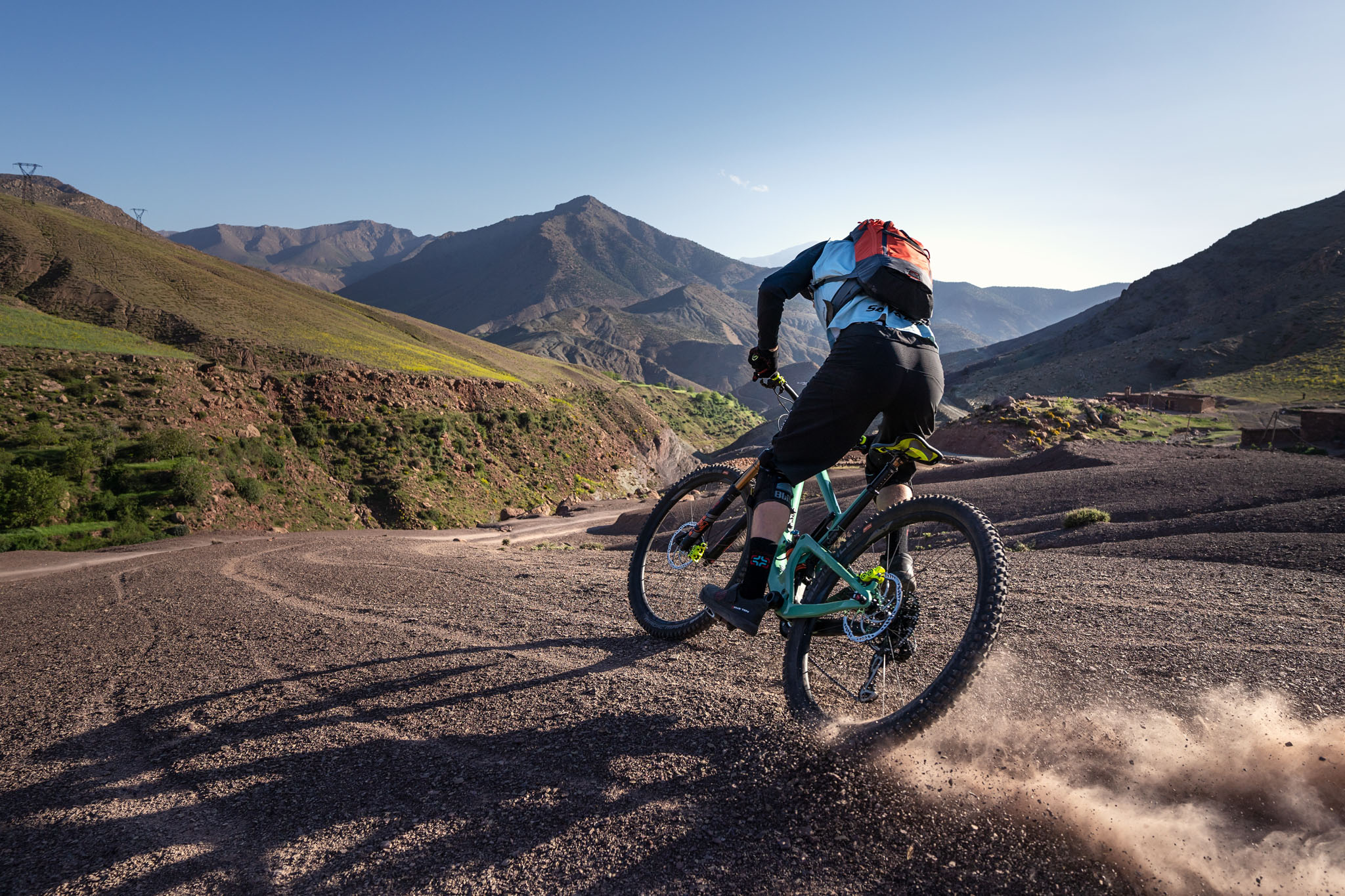 Action in the Atlas - Mountain Bike Shooting with Tamron's new E-Mount lenses