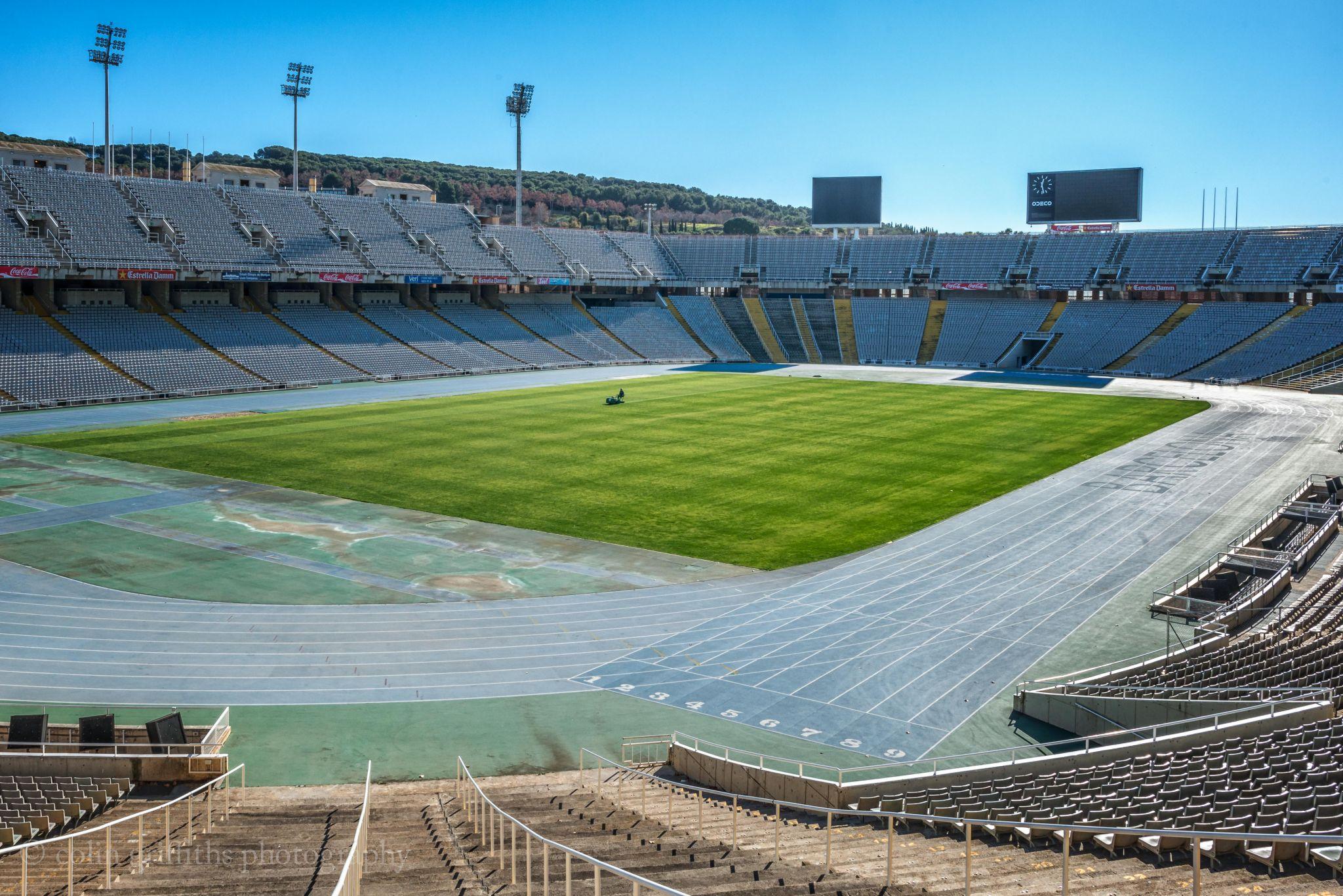 Barcelona olympic stadium, Spain