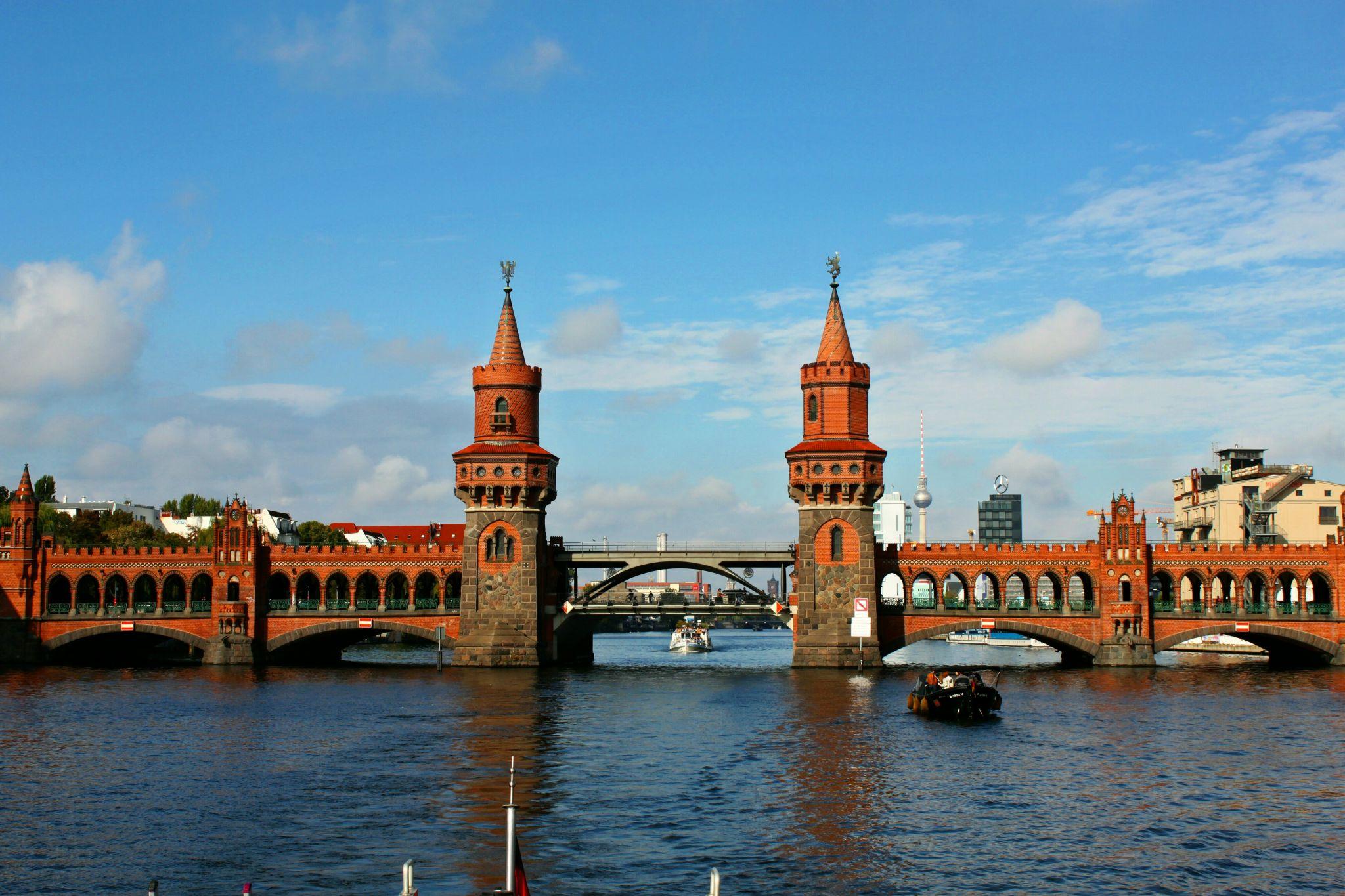 Berlin, Oberbaumbrücke, Germany