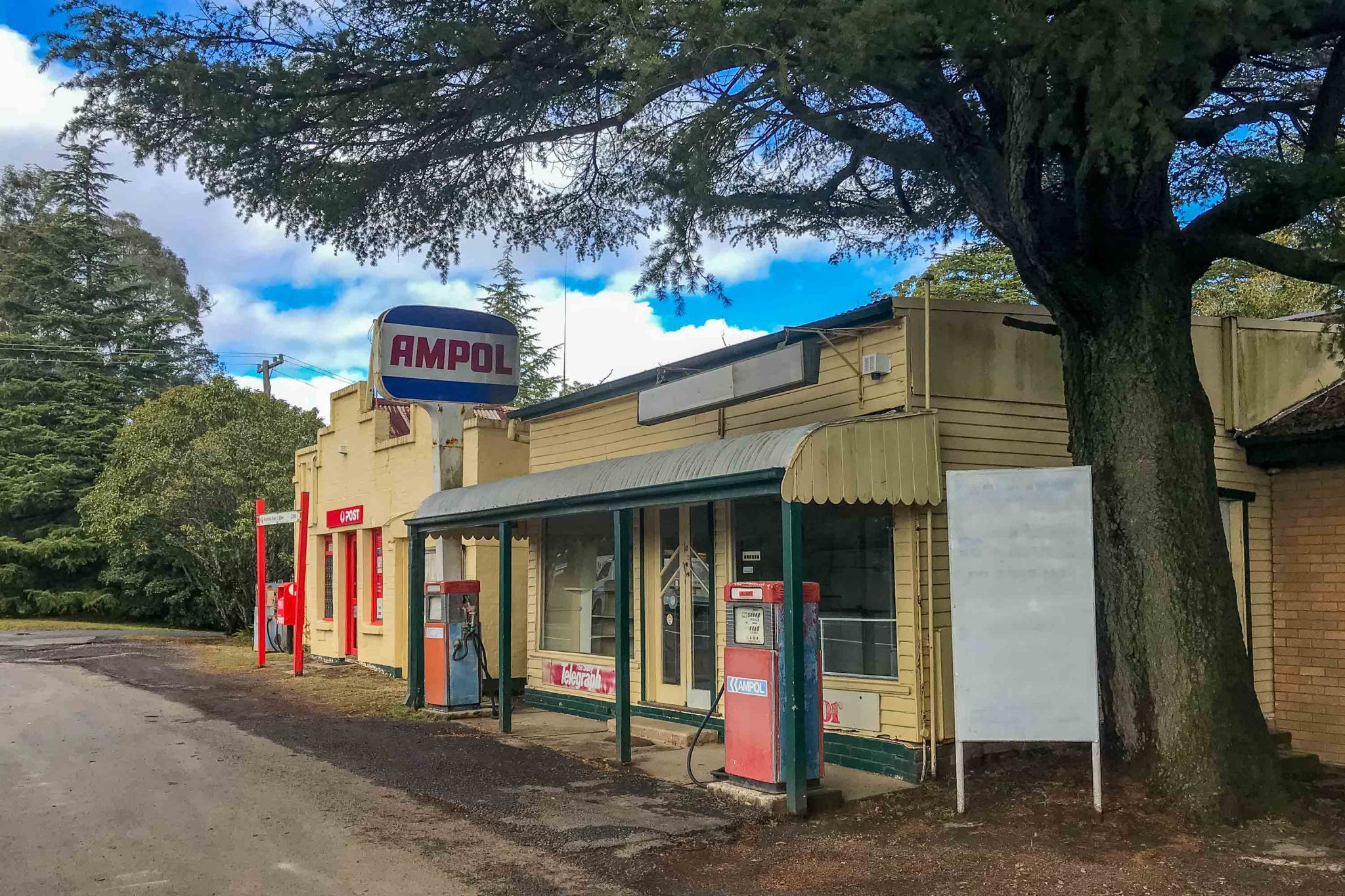 Bilpin Post off and Ampol Service station New South Wales, Australia